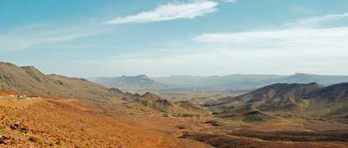 Above Ouarzazate