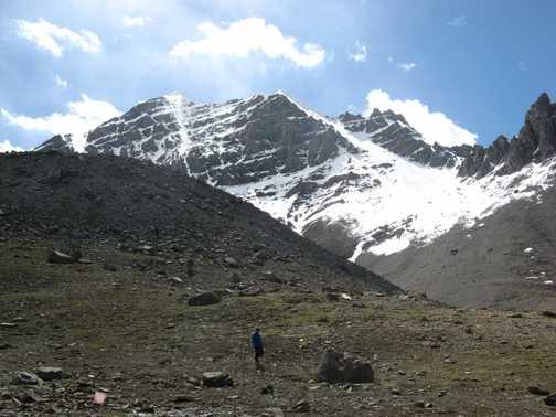 Stok Kangri, from base camp
