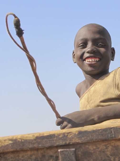 Young boy at Saly, Senegal