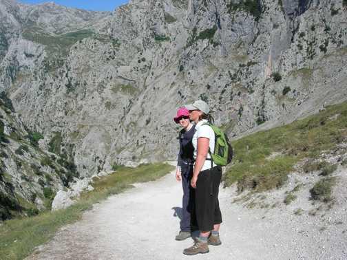 Cares Gorge path