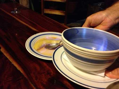 Fine dining in Guatemala