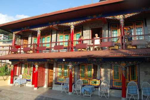 The wonderful Netuk House Hotel, Gangtok, Sikkim