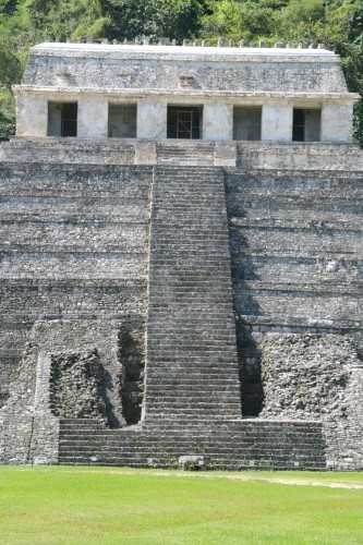 Steps, Temple of the Inscriptions, Palenque