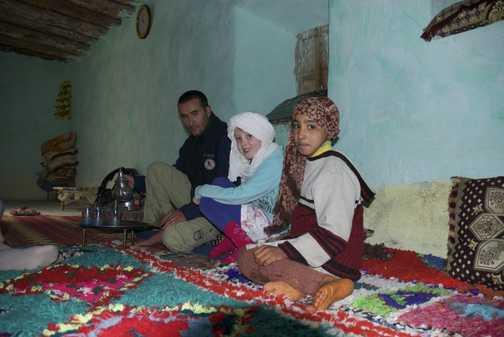 Berber hospitality and friendship