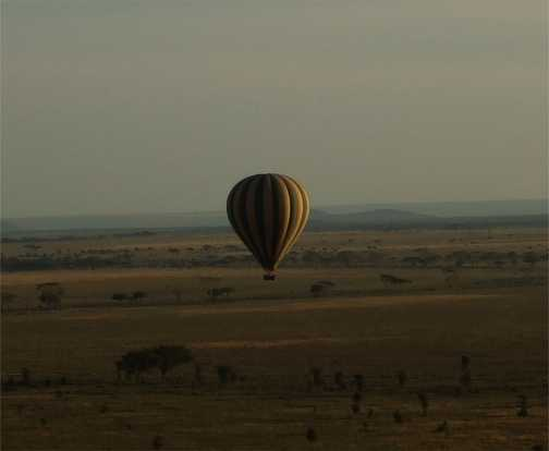 Dawn Patrol: Seregetti Ballon Ride