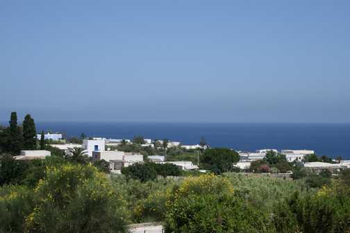 Stromboli coastline