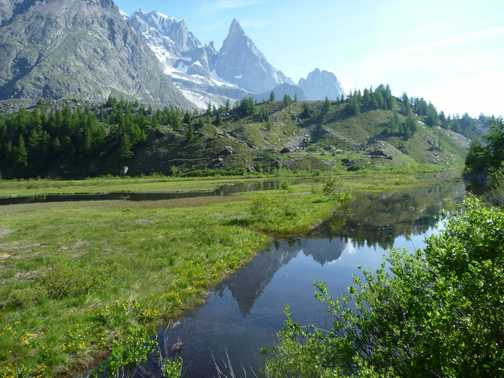 near Lac du Miage