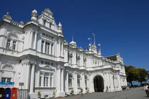 City Council and museum, Georgetown Penang, Malaysia