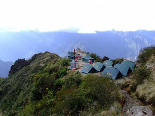 Spectacular campsite