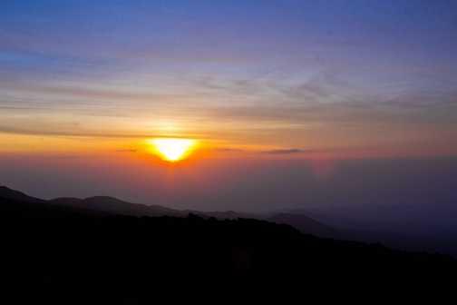 Sunrise at Horombo