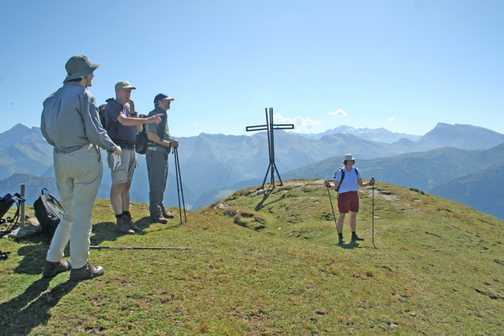 Top of the ridge