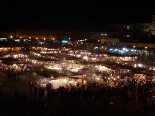 Jamaa el fna night market 2