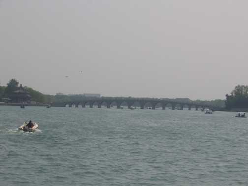 Beijing Summer Palace 17 arch bridge