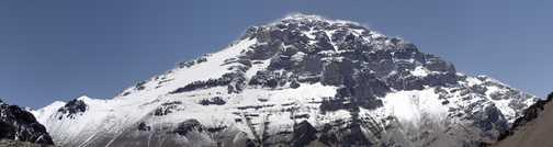 Aconcagua West Face Panorama 1