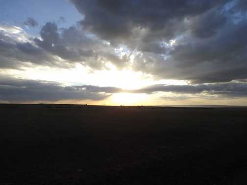 kenya sunset