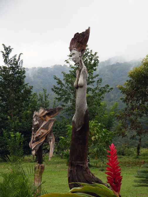 Sculptures near Arenal