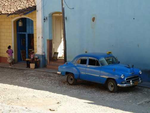 Old car in Trinidad