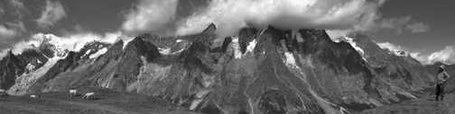 Monte Bianco Panorama