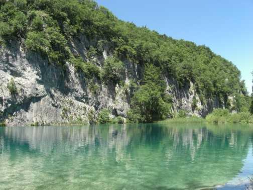 Lake at Plitvice Lake