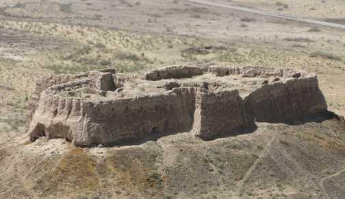 Ayaz Kala Desert Fortress