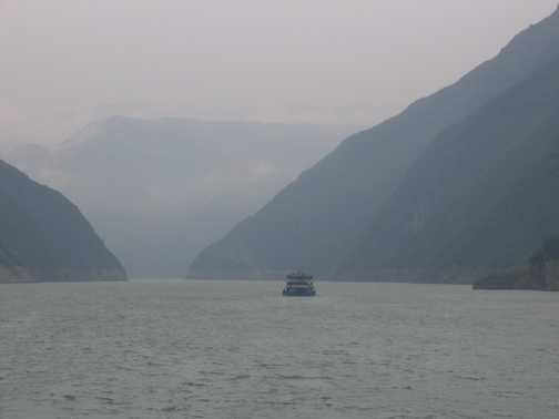 Yangtze Cruise River View