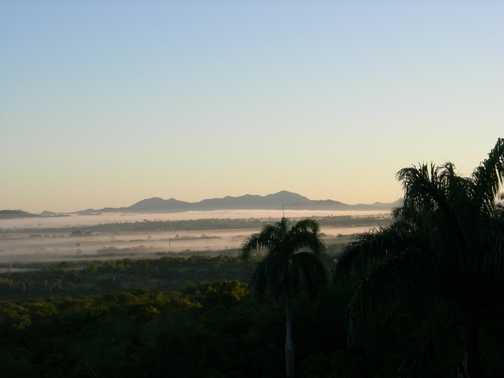Mist over Holguin