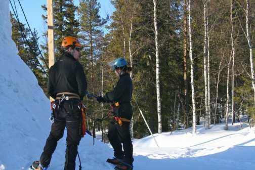 Ice climbing expert