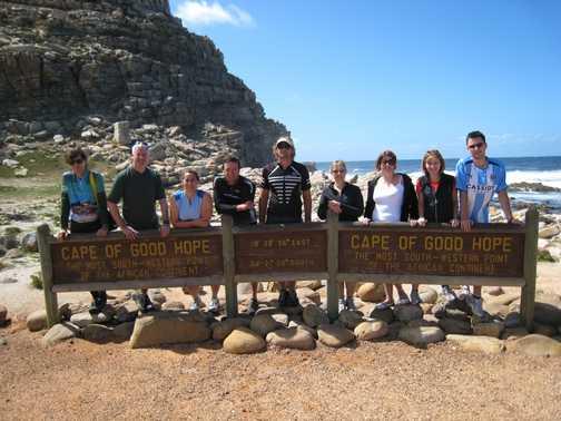 Patrick at Cape of Good Hope (no baboons!)