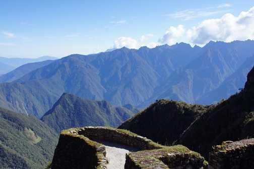 views from Phuyupatamarca