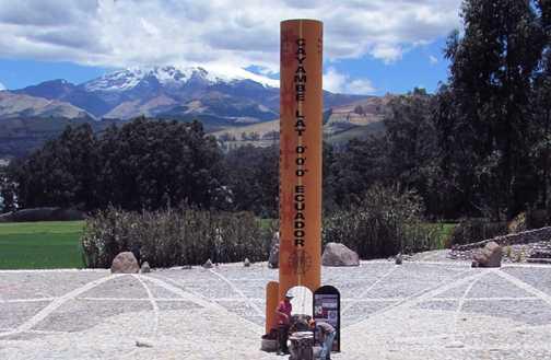 On the Equator!