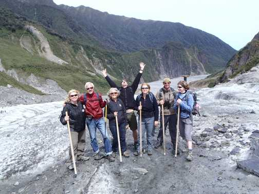 The Group - Fox Glacier