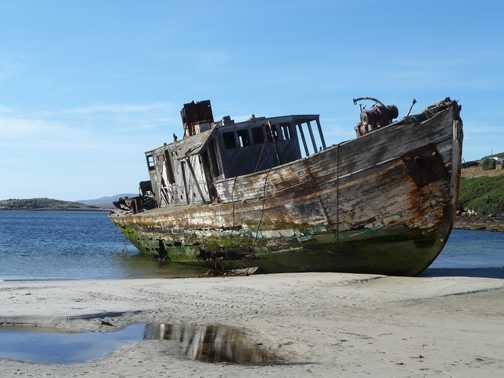 New Island Wreck