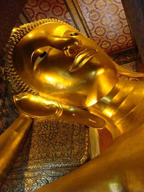 Reclining Buddha - Wat Po, Thailand