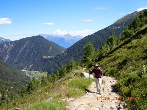 Ralph Rustam in the hike