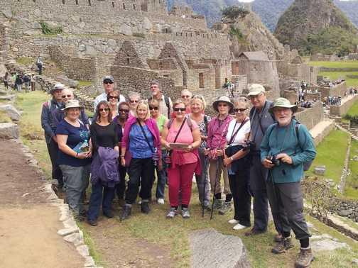 The APD130907 in Machu Picchu. Sep 13, 2013.