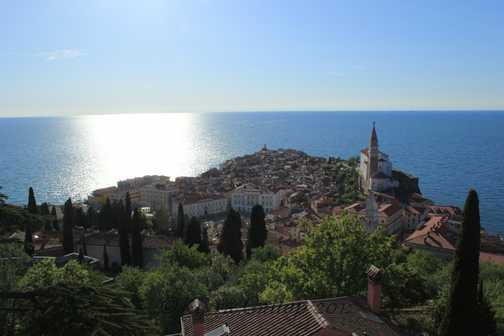View from Piran's walls