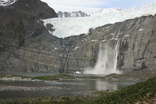Gold Hbr Glacier Calving