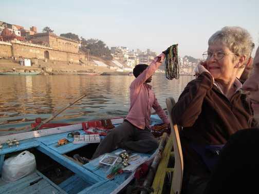 ganges boat seller