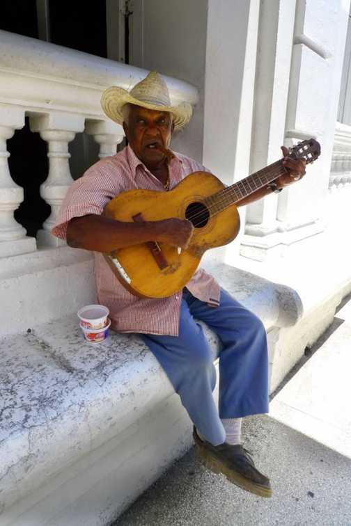 Musician in Santiago de Cuba