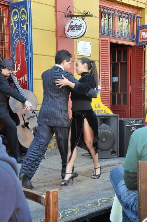 Tango Dancers - La Boca