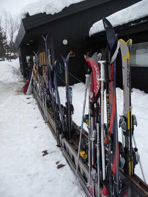 The Ski School arena