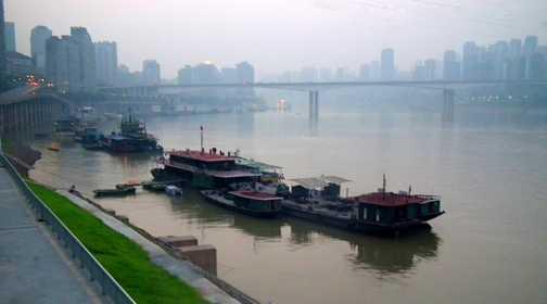 Yangste at Chongqing