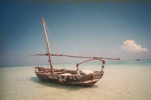 Boat, Beach,  Blue Sea , Blue Sky