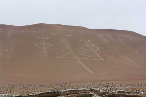 Candelabra geoglyph