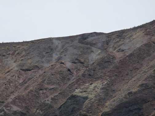 Vesuvius' fumes