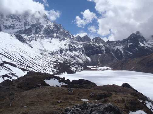 from the summit of Gokyo Ri