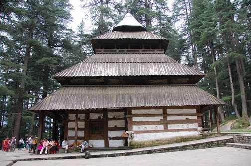 Hadimba Hindu Tempel Manali