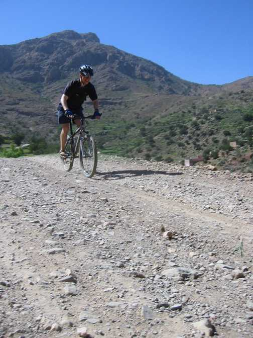 Downhill brings on the smiles