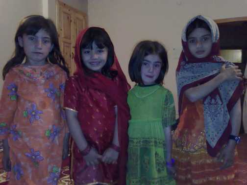 Girls from Hunza