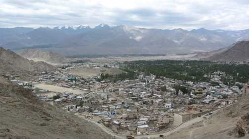 A view over Leh